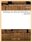Image for Statistiques Des Deces Par Tuberculose En ... (Ed.1907)