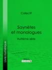 Image for Saynetes Et Monologues: Huitieme Serie.