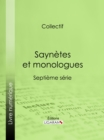 Image for Saynetes Et Monologues: Septieme Serie.