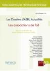 Image for Les Associations De Faits: Les Dossiers D'asbl Actualites.