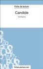 Image for Candide de Voltaire (Fiche de lecture): Analyse complete de l'oeuvre