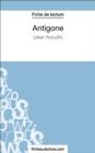 Image for Antigone de Jean Anouilh (Fiche de lecture): Analyse complete de l'oeuvre