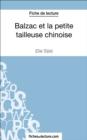 Image for Balzac et la petite tailleuse chinoise de Dai Sijie (Fiche de lecture): Analyse complete de l'oeuvre