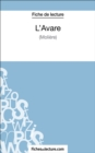 Image for L'Avare de Moliere (Fiche de lecture): Analyse complete de l'oeuvre