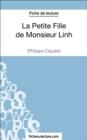 Image for La Petite Fille de Monsieur Linh de Philippe Claudel (Fiche de lecture): Analyse complete de l'oeuvre
