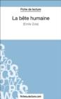Image for La Bete humaine d'Emile Zola (Fiche de lecture): Analyse complete de l'oeuvre