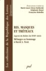 Image for Ris, masques et treteaux : Aspects du theatre du XVIIIe...