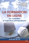Image for La Formation En Ligne. Les Conseillers Et Ingenieurs Pedagog.