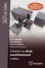 Image for Initiation Au Droit Constitutionnel