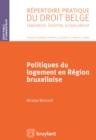 Image for Politiques du logement en region bruxelloise