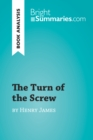Image for Turn of the Screw by Henry James (Book Analysis): Detailed Summary, Analysis and Reading Guide