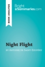 Image for Night Flight by Antoine de Saint-Exupery (Book Analysis): Detailed Summary, Analysis and Reading Guide