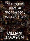 Image for The great English short-story writers, vol 1