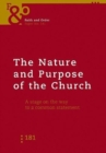 Image for Nature and Purpose of the Church : A Stage on the Way to a Common Statement