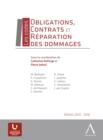 Image for Obligations, contrats et reparation des dommages: Les codes.