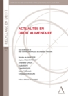 Image for Actualites En Droit Alimentaire: Les Enjeux De Ses Evolutions