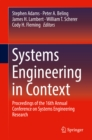 Image for Systems engineering in context: proceedings of the 16th Annual Conference on Systems Engineering Research