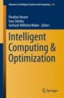 Image for Intelligent Computing & Optimization