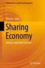 Image for Sharing economy: making supply meet demand : volume 6