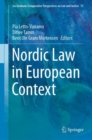 Image for Nordic law in European context : volume 73