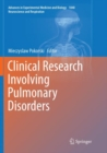 Image for Clinical Research Involving Pulmonary Disorders