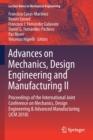 Image for Advances on Mechanics, Design Engineering and Manufacturing II : Proceedings of the International Joint Conference on Mechanics, Design Engineering & Advanced Manufacturing (JCM 2018)