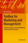 Image for Toolbox for Marketing and Management : Creative Concepts, Forecasting Methods, and Analytical Instruments
