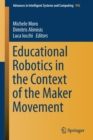Image for Educational Robotics in the Context of the Maker Movement
