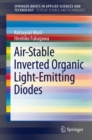 Image for Air-Stable Inverted Organic Light-Emitting Diodes