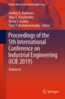 Image for Proceedings of the 5th International Conference on Industrial Engineering (ICIE 2019)Volume II