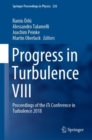 Image for Progress in Turbulence VIII : Proceedings of the iTi Conference in Turbulence 2018