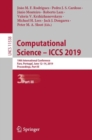 Image for Computational science -- ICCS 2019: 19th International Conference, Faro, Portugal, June 11-14, 2019, proceedings. : 11538