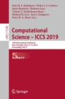 Image for Computational Science - ICCS 2019 : 19th International Conference, Faro, Portugal, June 12-14, 2019, Proceedings, Part V
