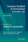 Image for Solutions for Sustainability : How the International Trade, Energy and Climate Change Regimes Can Help