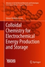 Image for Colloidal Chemistry for Electrochemical Energy Production and Storage