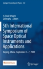 Image for 5th International Symposium of Space Optical Instruments and Applications : Beijing, China, September 5-7, 2018