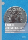 Image for Finance and democracy  : towards a sustainable financial system