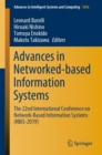 Image for Advances in Networked-based Information Systems : The 22nd International Conference on Network-Based Information Systems (NBiS-2019)
