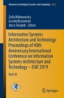 Image for Information Systems Architecture and Technology: Proceedings of 40th Anniversary International Conference on Information Systems Architecture and Technology - ISAT 2019 : Part III