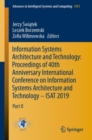 Image for Information Systems Architecture and Technology: Proceedings of 40th Anniversary International Conference on Information Systems Architecture and Technology - ISAT 2019 : Part II