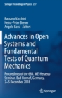 Image for Advances in Open Systems and Fundamental Tests of Quantum Mechanics : Proceedings of the 684. WE-Heraeus-Seminar, Bad Honnef, Germany, 2-5 December 2018