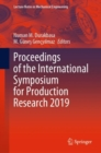 Image for Proceedings of the International Symposium for Production Research 2019