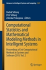Image for Computational Statistics and Mathematical Modeling Methods in Intelligent Systems : Proceedings of 3rd Computational Methods in Systems and Software 2019, Vol. 2