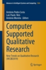 Image for Computer Supported Qualitative Research : New Trends on Qualitative Research (WCQR2019)