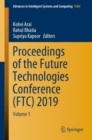 Image for Proceedings of the Future Technologies Conference (FTC) 2019 : Volume 1