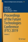 Image for Proceedings of the Future Technologies Conference (FTC) 2019 : Volume 2