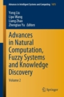 Image for Advances in Natural Computation, Fuzzy Systems and Knowledge Discovery : Volume 2