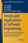 Image for Trends and Applications in Software Engineering : Proceedings of the 8th International Conference on Software Process Improvement (CIMPS 2019)