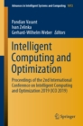 Image for Intelligent Computing and Optimization: Proceedings of the 2nd International Conference On Intelligent Computing and Optimization 2019 (Ico 2019) : 1072