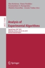 Image for Analysis of Experimental Algorithms : Special Event, SEA(2) 2019, Kalamata, Greece, June 24-29, 2019, Revised Selected Papers
